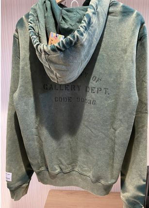 GALLERY DEPT. Hoodies Pullovers Street Style Collaboration Long Sleeves Cotton 3