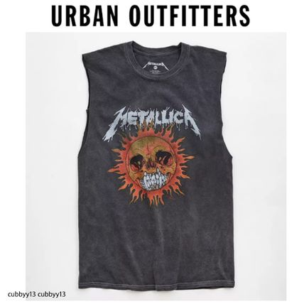 Urban Outfitters More T-Shirts Studded Street Style Leather T-Shirts