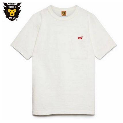 HUMAN MADE More T-Shirts Unisex Street Style Cotton Short Sleeves Logo T-Shirts