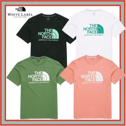 THE NORTH FACE More T-Shirts Unisex Street Style Short Sleeves Oversized Logo Outdoor