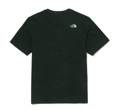 THE NORTH FACE More T-Shirts Unisex Street Style Short Sleeves Oversized Logo Outdoor 3