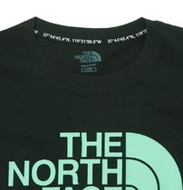 THE NORTH FACE More T-Shirts Unisex Street Style Short Sleeves Oversized Logo Outdoor 4