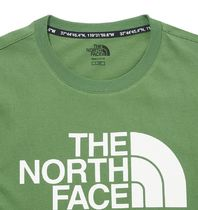 THE NORTH FACE More T-Shirts Unisex Street Style Short Sleeves Oversized Logo Outdoor 14