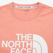 THE NORTH FACE More T-Shirts Unisex Street Style Short Sleeves Oversized Logo Outdoor 18