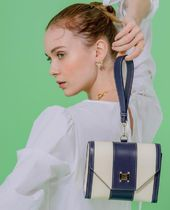 HEUREUX BY STELLA Stripes Casual Style 2WAY Office Style Crossbody