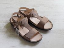 Finn Comfort Casual Style Leather Footbed Sandals Flat Sandals