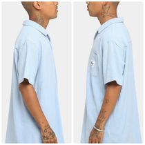 STUSSY Shirts Button-down Paisley Street Style Plain Cotton Short Sleeves 4