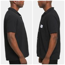STUSSY Shirts Button-down Paisley Street Style Plain Cotton Short Sleeves 6