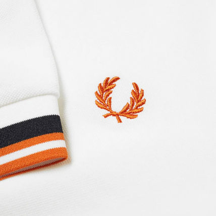 FRED PERRY Polos Unisex Short Sleeves Logo Polos 2
