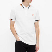 FRED PERRY Polos Unisex Short Sleeves Logo Polos 5