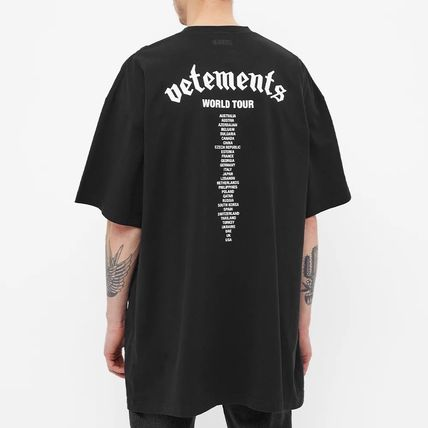 VETEMENTS More T-Shirts Street Style Collaboration Short Sleeves Logo T-Shirts