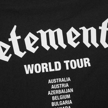 VETEMENTS More T-Shirts Street Style Collaboration Short Sleeves Logo T-Shirts 3