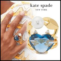kate spade new york Casual Style Brass Elegant Style Rings