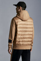 MONCLER Hoodies Pullovers Nylon Blended Fabrics Street Style Long Sleeves 5