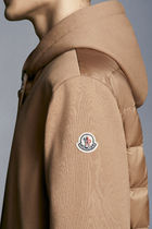MONCLER Hoodies Pullovers Nylon Blended Fabrics Street Style Long Sleeves 6