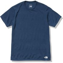 THE NORTH FACE More T-Shirts Stripes Street Style U-Neck Short Sleeves Logo Outdoor 5