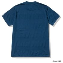 THE NORTH FACE More T-Shirts Stripes Street Style U-Neck Short Sleeves Logo Outdoor 8