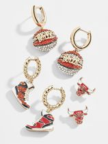 Baublebar Casual Style Blended Fabrics Studded Handmade Party Style