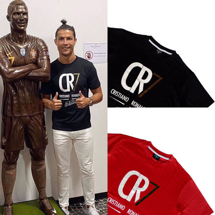 CR7 More T-Shirts Unisex Cotton Short Sleeves T-Shirts