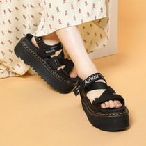 Dr Martens Casual Style Street Style Logo Sandals
