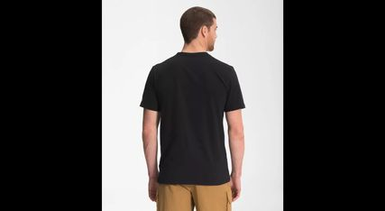 THE NORTH FACE Crew Neck Men's Short Sleeve Novelty Graphic Camp Tee 3