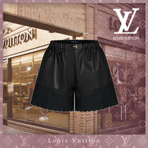 Louis Vuitton Short Casual Style Street Style Leather