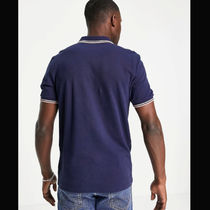 FRED PERRY Polos Unisex Street Style Cotton Short Sleeves Logo Polos 4