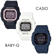 CASIO Casual Style Street Style Silicon Square Party Style