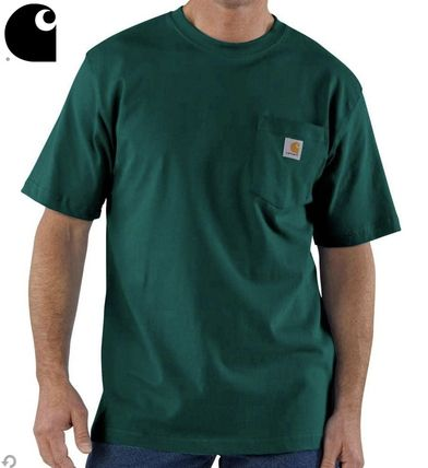 Carhartt More T-Shirts Street Style Oversized T-Shirts
