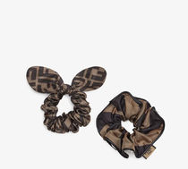 FENDI Scrunchy Casual Style Animal Party Style Office Style
