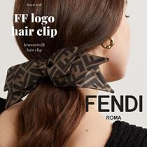 FENDI Casual Style Party Style Elegant Style Hair Accessories