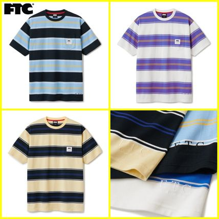 FTC More T-Shirts Unisex Street Style Cotton Short Sleeves Logo Skater Style