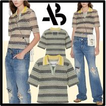 ANDERSSON BELL Casual Style Street Style Polos