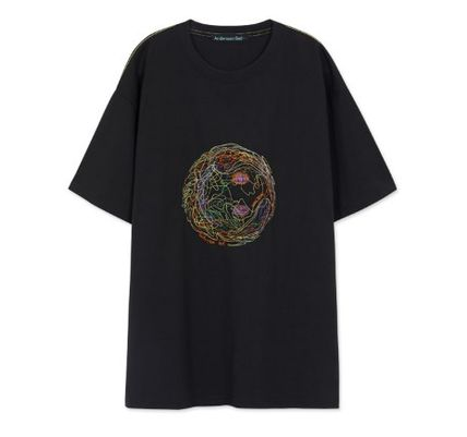 ANDERSSON BELL More T-Shirts Unisex Street Style Cotton Short Sleeves Oversized Logo 2