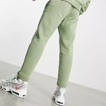Nike Tapered Pants Sweat Street Style Plain Logo Icy Color