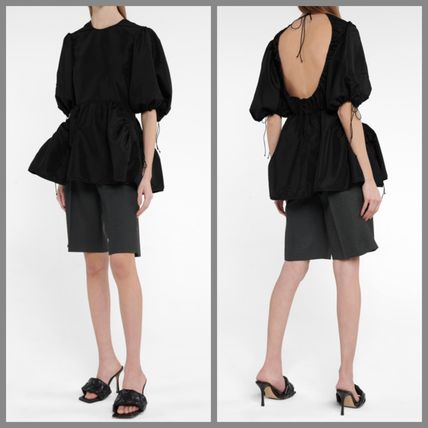 CECILIE BAHNSEN Elegant Style Puff Sleeves Shirts & Blouses