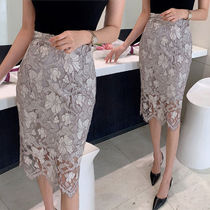 Flower Patterns Lace Skirts