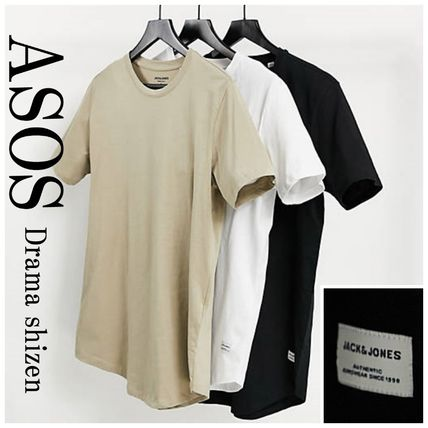 ASOS Crew Neck Crew Neck Pullovers Street Style Cotton Short Sleeves Co-ord