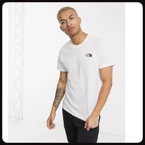 THE NORTH FACE More T-Shirts Street Style Logo Outdoor T-Shirts 10