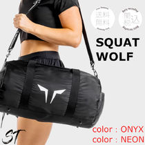 SQUAT WOLF Unisex Street Style Activewear Bags