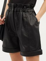 FRAME DENIM Leather Leather & Faux Leather Shorts