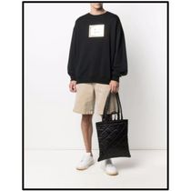 Ance Studios Baker out Unisex Street Style 2WAY Plain Logo Totes