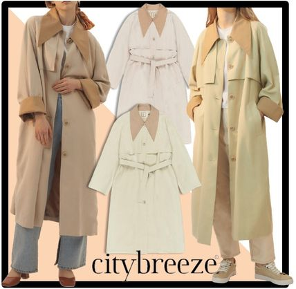 citybreeze Casual Style Street Style Coats