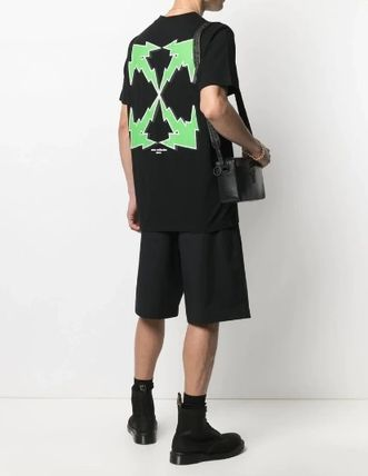 Off-White More T-Shirts Street Style Logo T-Shirts 3