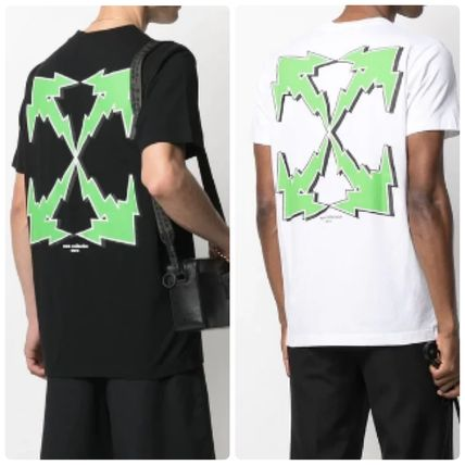 Off-White More T-Shirts Street Style Logo T-Shirts