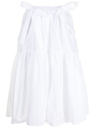 CECILIE BAHNSEN Flared Skirts Casual Style Nylon Long Elegant Style