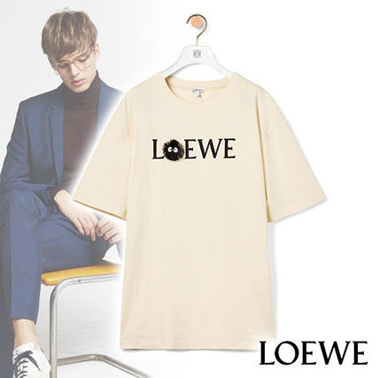 LOEWE More T-Shirts Dust Bunnies T-Shirt In Cotton