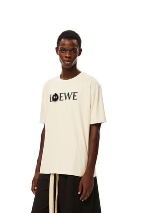 LOEWE More T-Shirts Dust Bunnies T-Shirt In Cotton 3