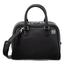 LOEWE Casual Style 2WAY Plain Leather Party Style Office Style