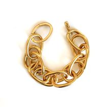 PERRINE TAVERNITI Casual Style Chain Party Style Brass Elegant Style Bridal